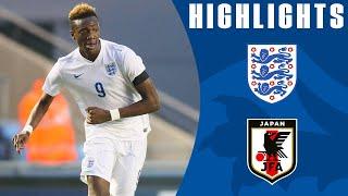 England U19 5-1 Japan U19 | Goals & Highlights