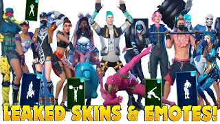 *NEW* Leaked Summer Skins And Cosmetics : Fortnite Battle Royale🏖🏐