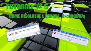 Tutorial_5° Come risolvere l