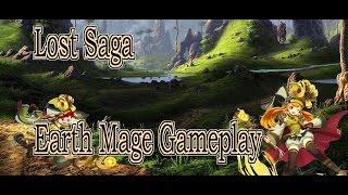 Lost Saga NA Earth Mage Gameplay