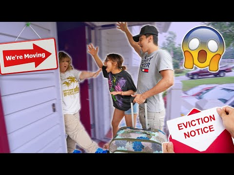 We Lost Our Apartment And We're Moving Back In Prank On Mom!!