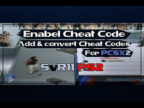 How To Enable Cheat And Add Cheat Codes For PCSX2