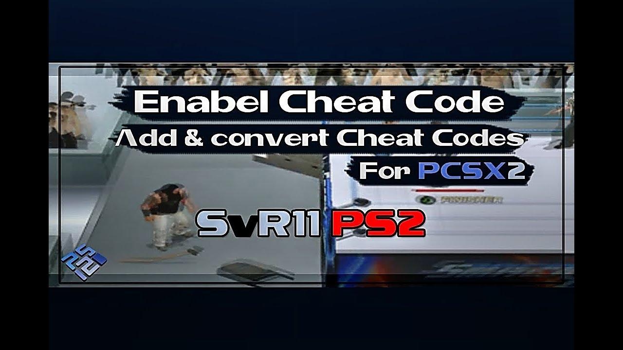 Ps2 gameshark pcsx2