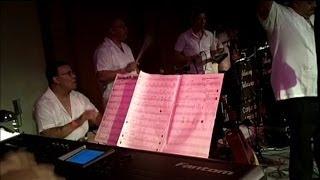Salsa Piano Solo (Improvisation) in D Minor / Re Menor - Albeniz Quintana on Piano