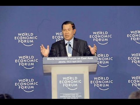 #April 21, 2015 Prime Minister on world Economic Forum on East Asia