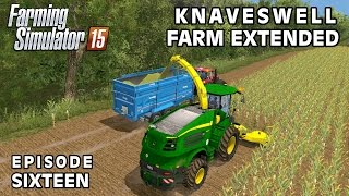 Let's Play Farming Simulator 2015 | Knaveswell Farm Extended | Episode 16