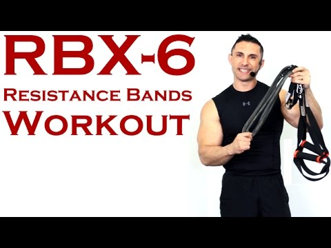 Resistance Bands Workout | RBX6 with The Bow