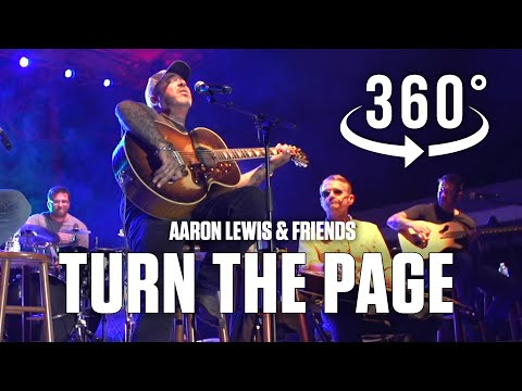 Turn The Page (Bob Seger) by Aaron Lewis Live