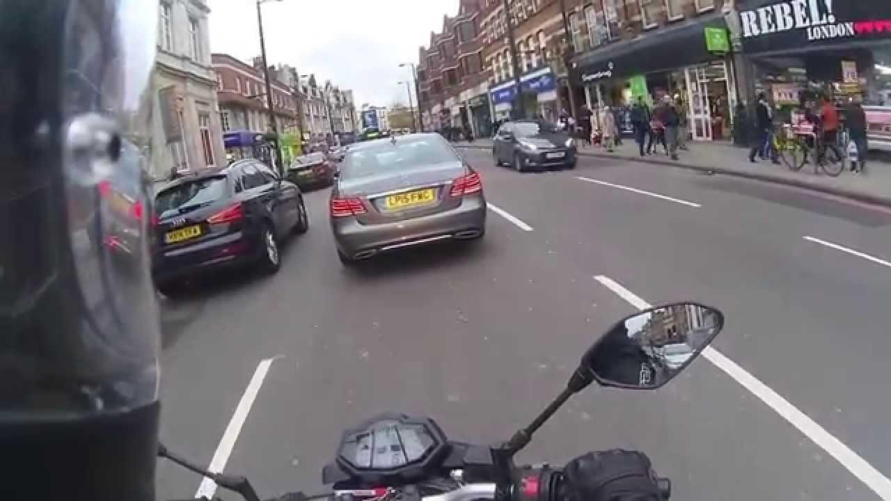 Moto Weekend   1 – London on a Yamaha MT-125