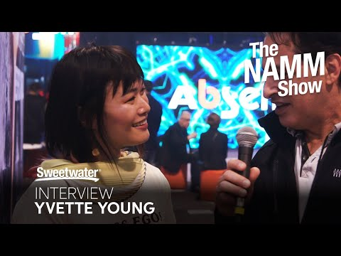Yvette Young Interview at Winter NAMM 2020