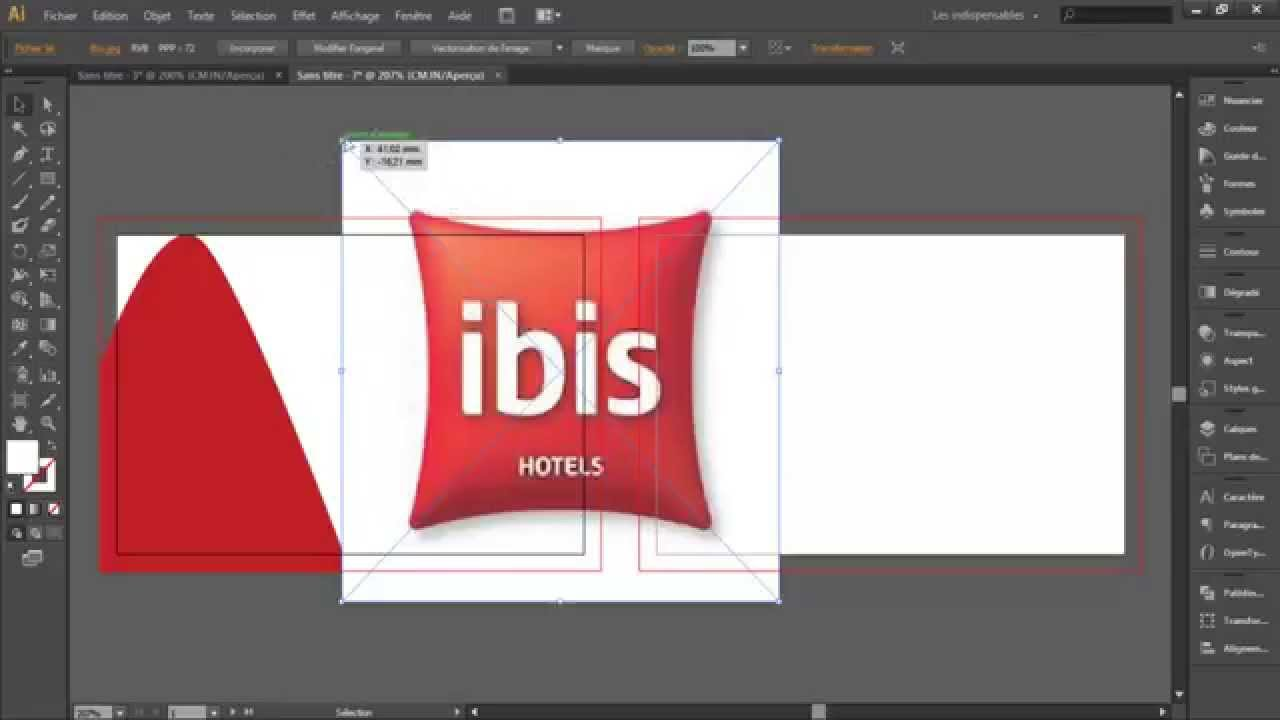 Comment Cre Une Carte De Visite Sous Illustrator