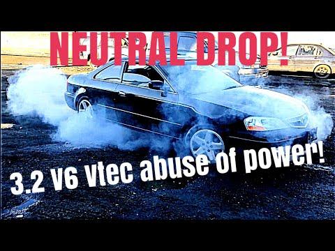 Acura CL 3.2 VTEC V6. Strong NEUTRAL DROPS!