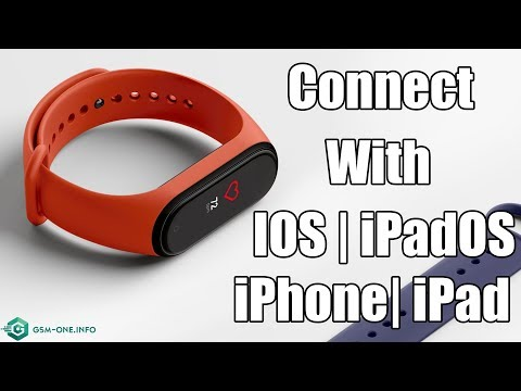 How To Connect XIAOMI Mi Smart Band 4 With IOS | IpadOS iPhone | iPad