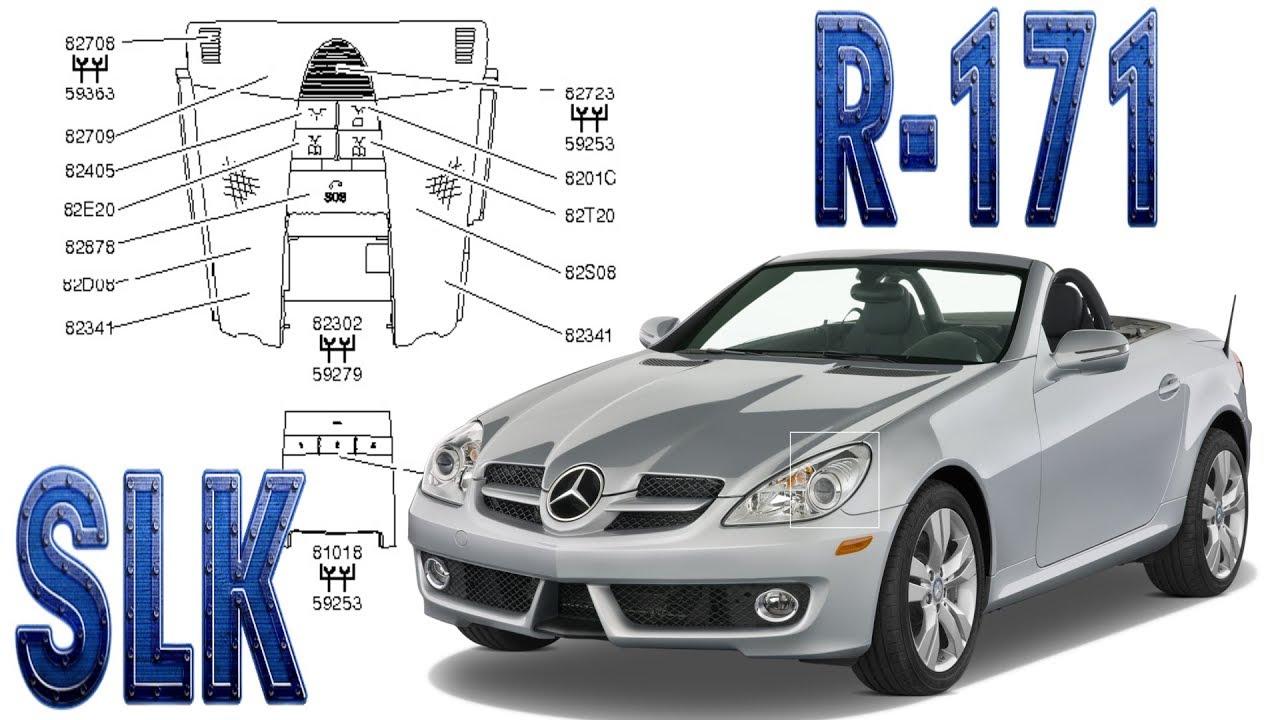 Mercedes Benz SLK   Elektrische Anlage - YouTube