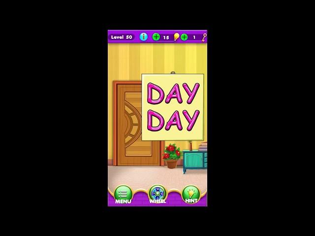Escape Room Word Finder Challenge level 46 47 48 49 50