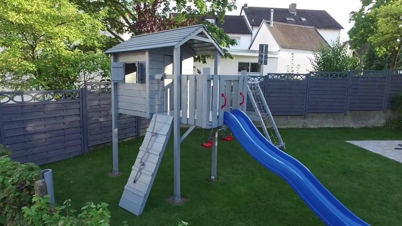Klettergerüst Isidor : Isidor terrizio mini spielturm baumhaus schaukel kletterturm