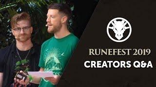 OSRS Creators Q&A - RuneFest 2019
