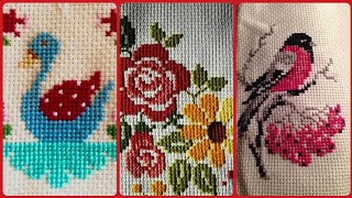 Cross Stitch Part # 3 Beautiful and Stunning Hand Made Embroidery Pattern Unique Designs