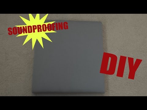 Tutorial Soundproofing DIY On a Budget (CHEAP) - YouTube