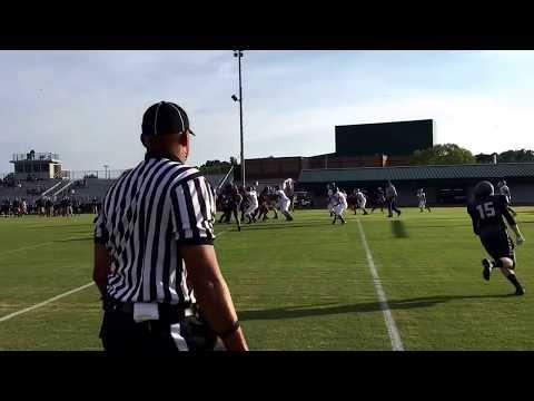 Grayson 2 pt conversion vs North Moore
