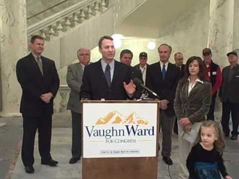 Republican Vaughn Ward declares his candidacy for Idaho