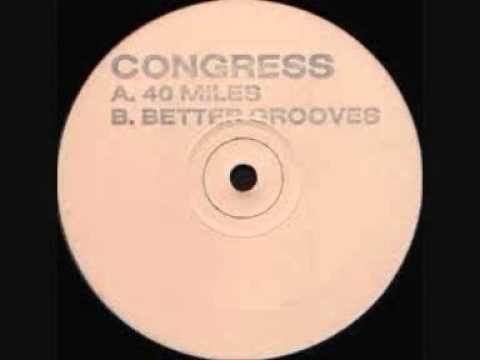 Congress - 40 miles (original white label)