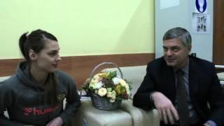 Сергей Шишкарёв посетил травмированную Веронику Гаранину в больнице