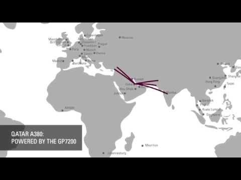 Qatar A380: Powered By The GP7200
