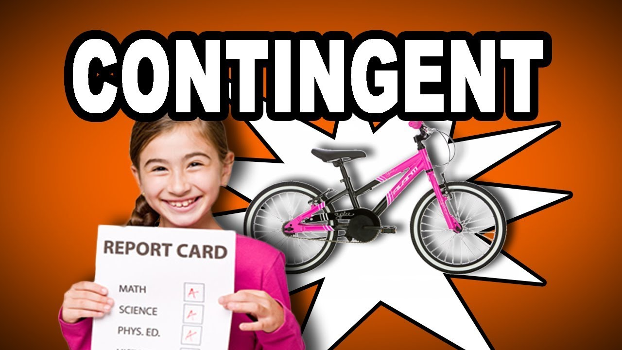 Learn English Words: CONTINGENT   Meaning, Vocabulary With Pictures And  Examples