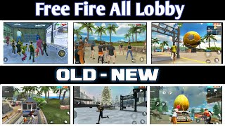 Free Fire All Lobby | Old - New All Lobby in Garena Free Fire.