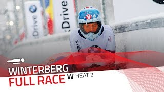 Winterberg | BMW IBSF World Cup 2017/2018 - Women's Skeleton Heat 2 | IBSF Official