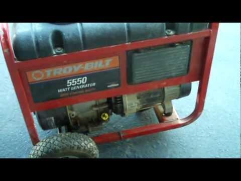 hqdefault troy bilt 5550 watt generator,$75 find ! youtube troy bilt generator 5550 wiring diagram at n-0.co