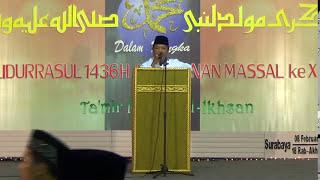 Pembawa acara Ustadz Djazuli