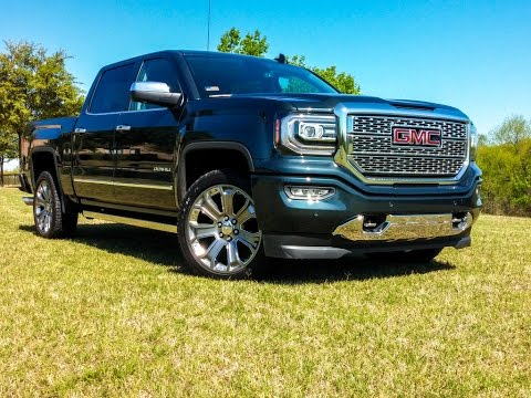 2017 gmc sierra denali 1500 test drive youtube. Black Bedroom Furniture Sets. Home Design Ideas