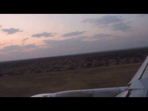 Air Namibia SW 708 CPT-WDH Windhoek arrival