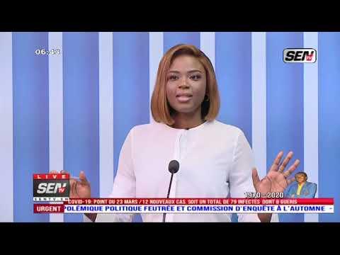La Revue des titres avec Fabrice Nguema du mardi 24 Mars 202