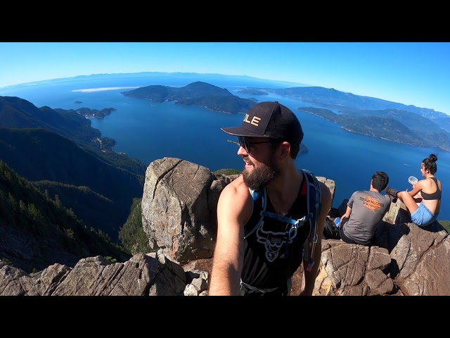 Hiking St Mark's Summit & Unnecessary Mountain, Vancouver, BC