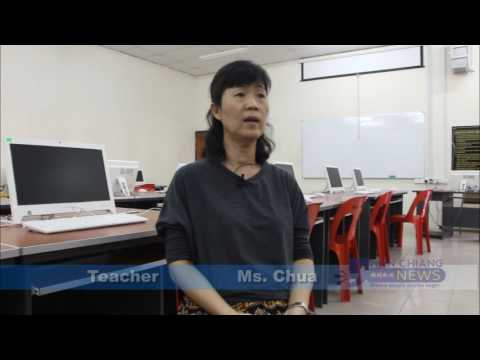 Han Chiang lecturer teaches MBS students design skills