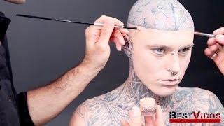 видео Самый татуированный мужчина • Рекорды Гиннеса