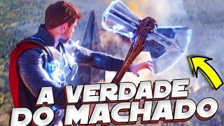 A VERDADE ESCONDIDA POR TRÁS DO NOVO MACHADO DO THOR!