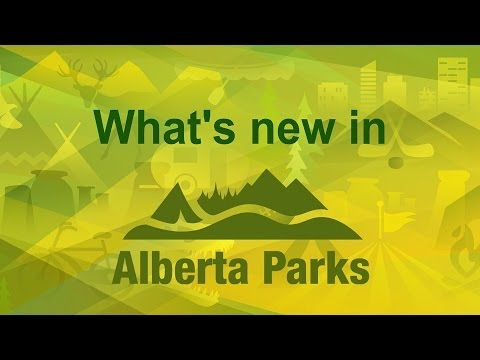 What's New in Alberta's Parks?