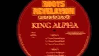 KING ALPHA - KNOW YOURSELF / LOOK & SEE JAH (RRR12004)