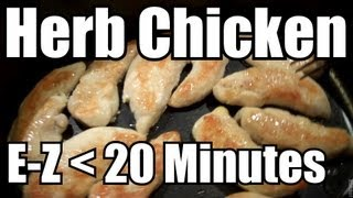 Super Easy Recipe! Herb Chicken - Ninja Cooking System