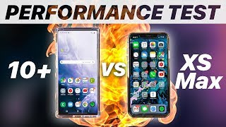 Note 10 Plus vs iPhone XS Max | ULTIMATE SPEED TEST