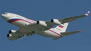 Vladimir Putin  Air Force One Russia
