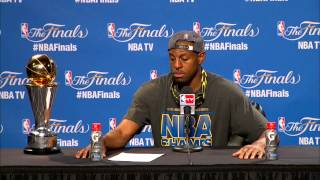 Andre Iguodala talks about being MVP and winning the NBA Championship