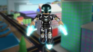ROBLOX: I'VE BECOME THE STRONGEST NEW SUPERHERO EVER! -Play Old man