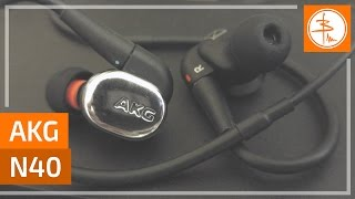AKG N40 - гибридные наушники от Harman