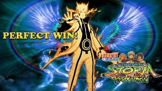 Naruto Kurama Link Perfection! Online Ranked Perfect Win Naruto Storm Revolution