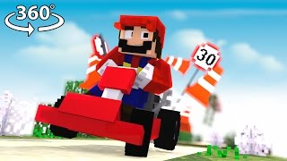 Super Mario in 360° - A Minecraft Roleplay Video
